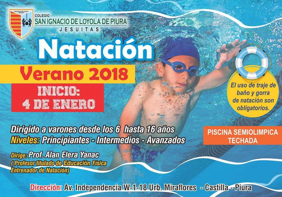 Natación 2018